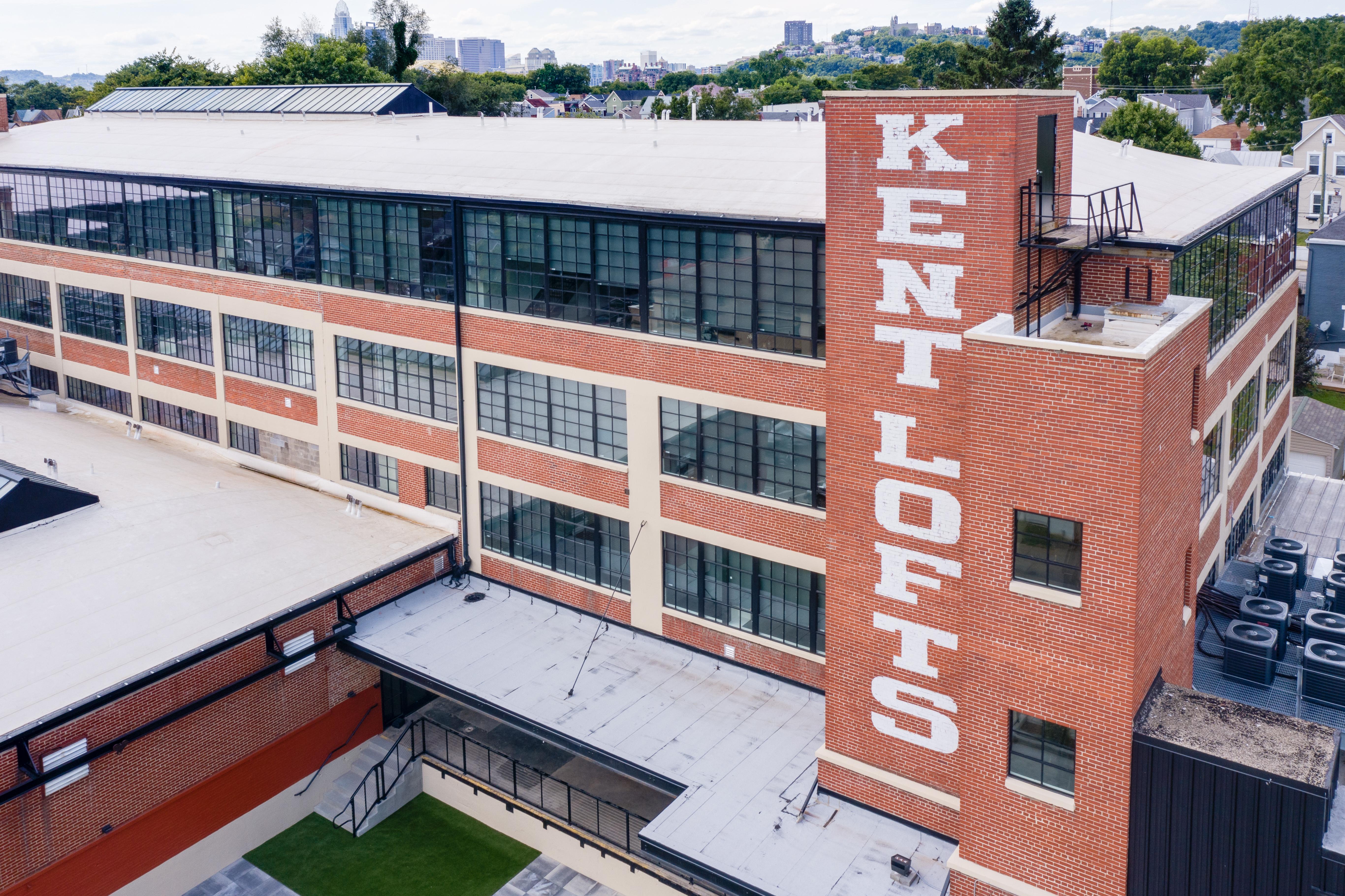 Exterior of Kent Lofts Building